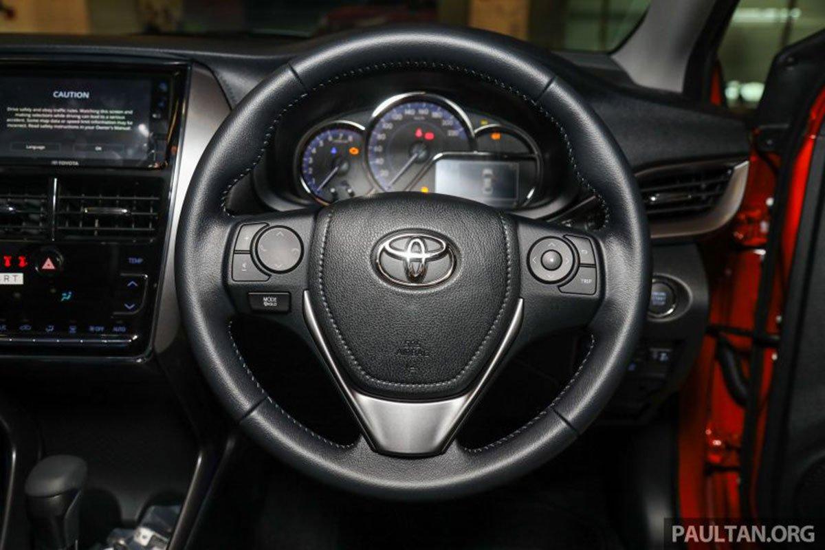 Vô lăng xe Toyota Vios 2021 bản G 1