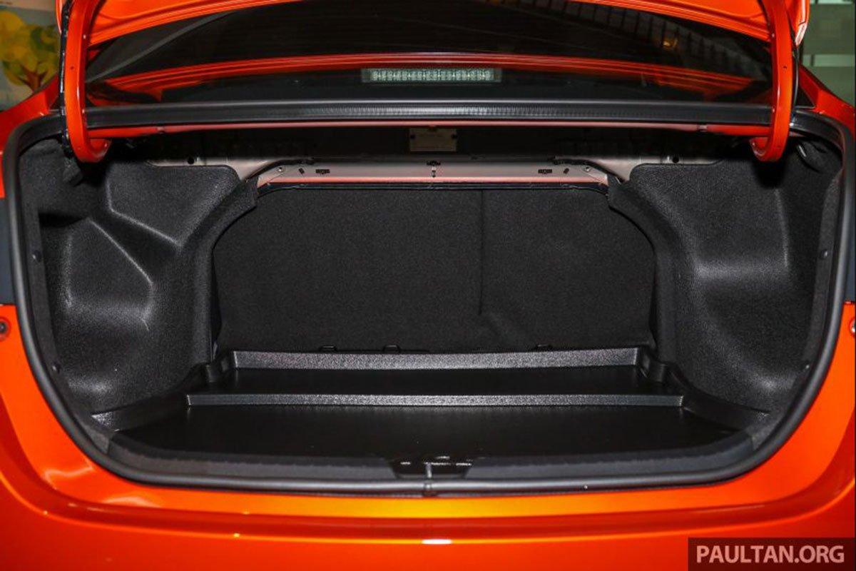 Khoang hành lý xe Toyota Vios 2021 1