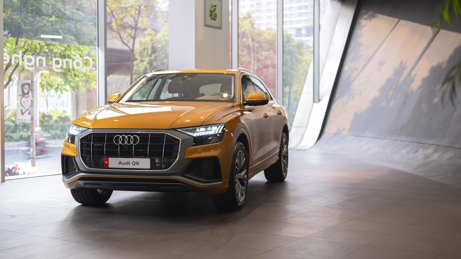 Audi Q8 sẵn sàng giao đến tay khách Việt, gửi lời thách thức BMW X6 1