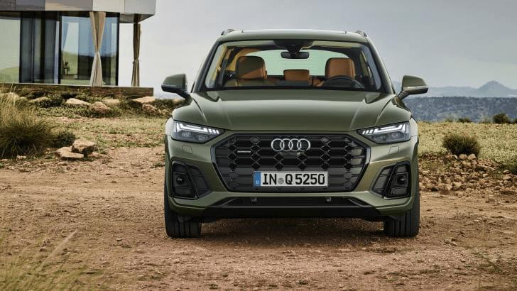 Audi Q5 2021 điều chỉnh giá phù hợp với trang bị mới.