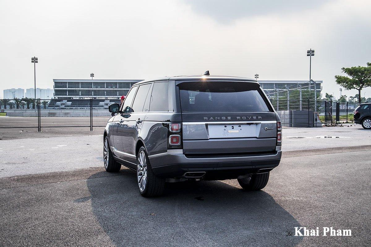 Ngoại thất xe Range Rover SV Autobiography - Ảnh 10.