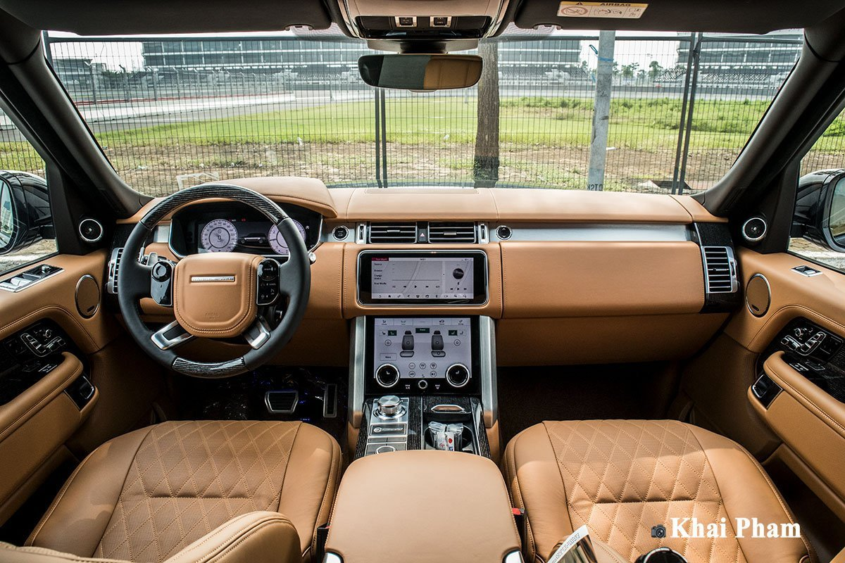 Nội thất xe Range Rover SV Autobiography 2021 - Ảnh 1.