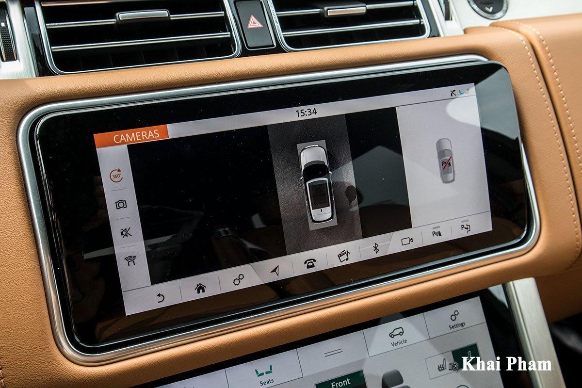 Trang bị an toàn trên Range Rover SV Autobiography 2021.