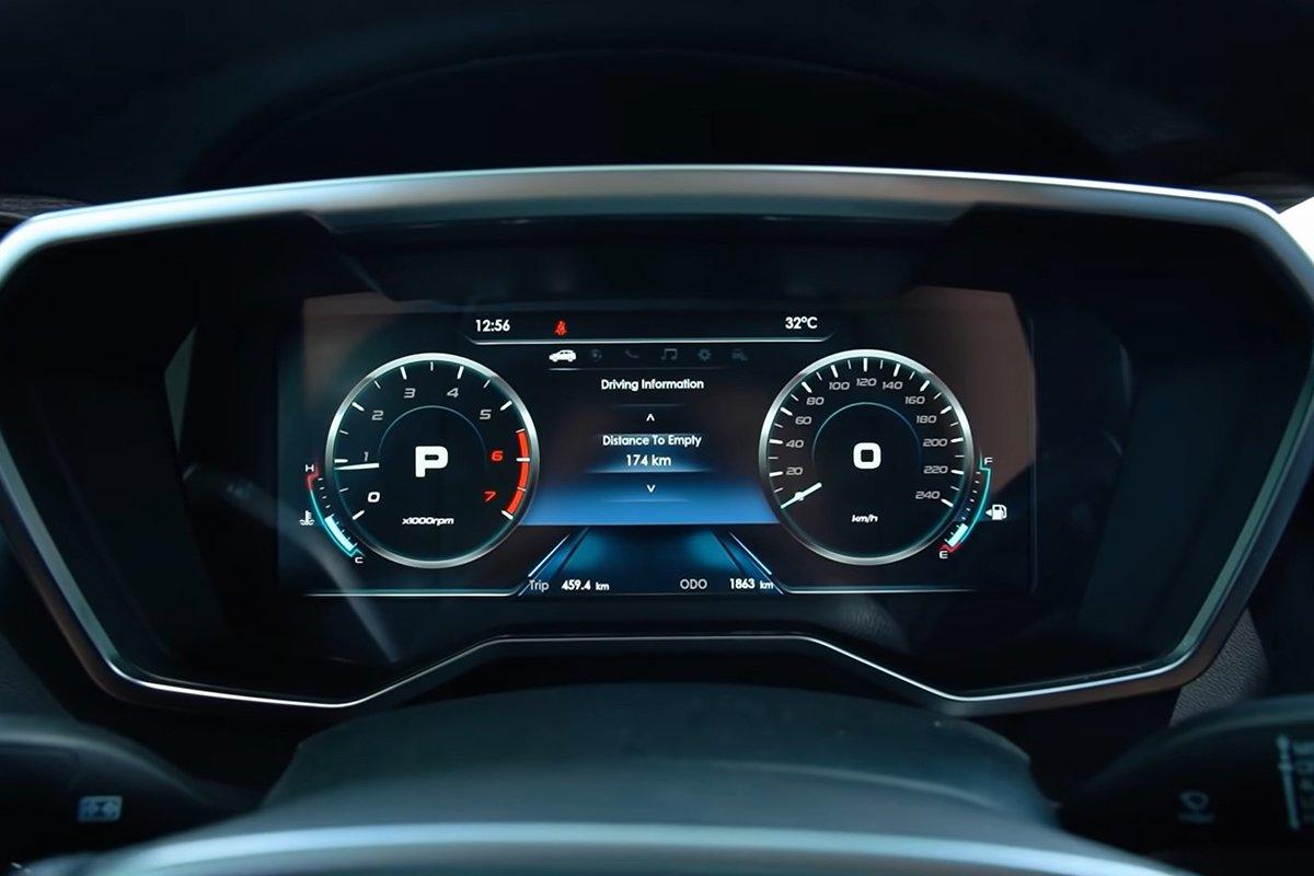 Ảnh Đồng hồ xe Ford Territory 2021