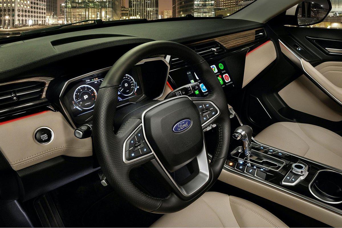 Ảnh Vô-lăng xe Ford Territory 2021