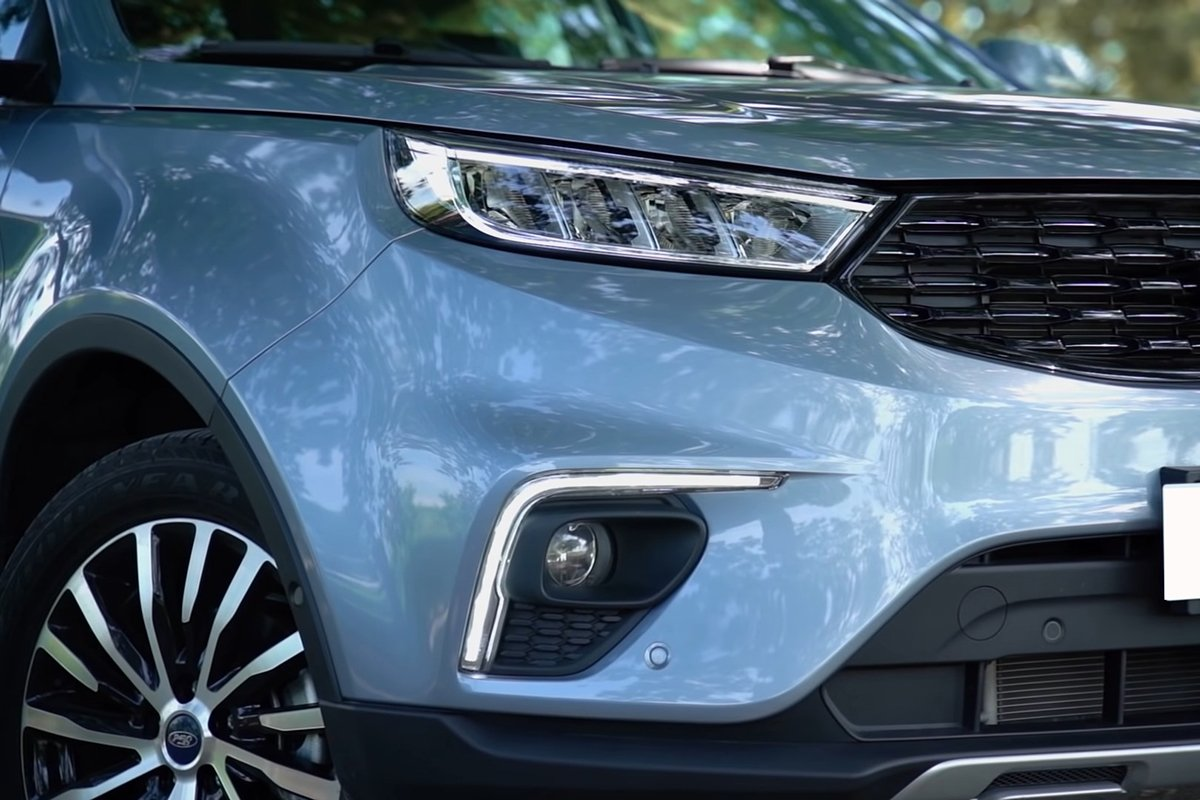 Ảnh Đèn pha xe Ford Territory 2021