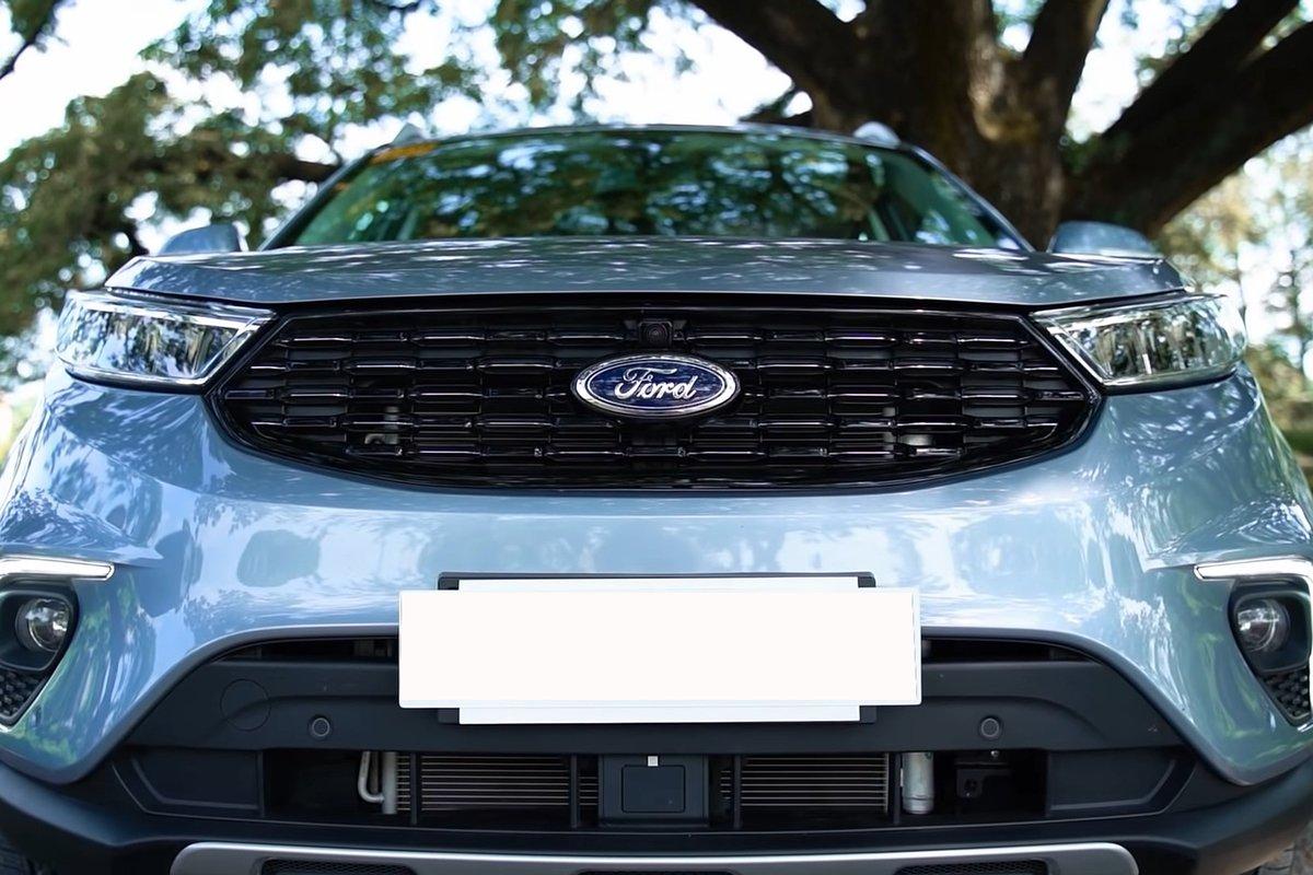 Ảnh Lưới tản nhiệt xe Ford Territory 2021