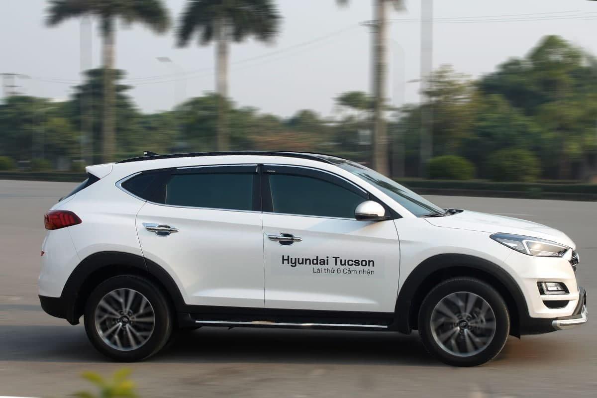 Ảnh Vận hành xe Hyundai Tucson
