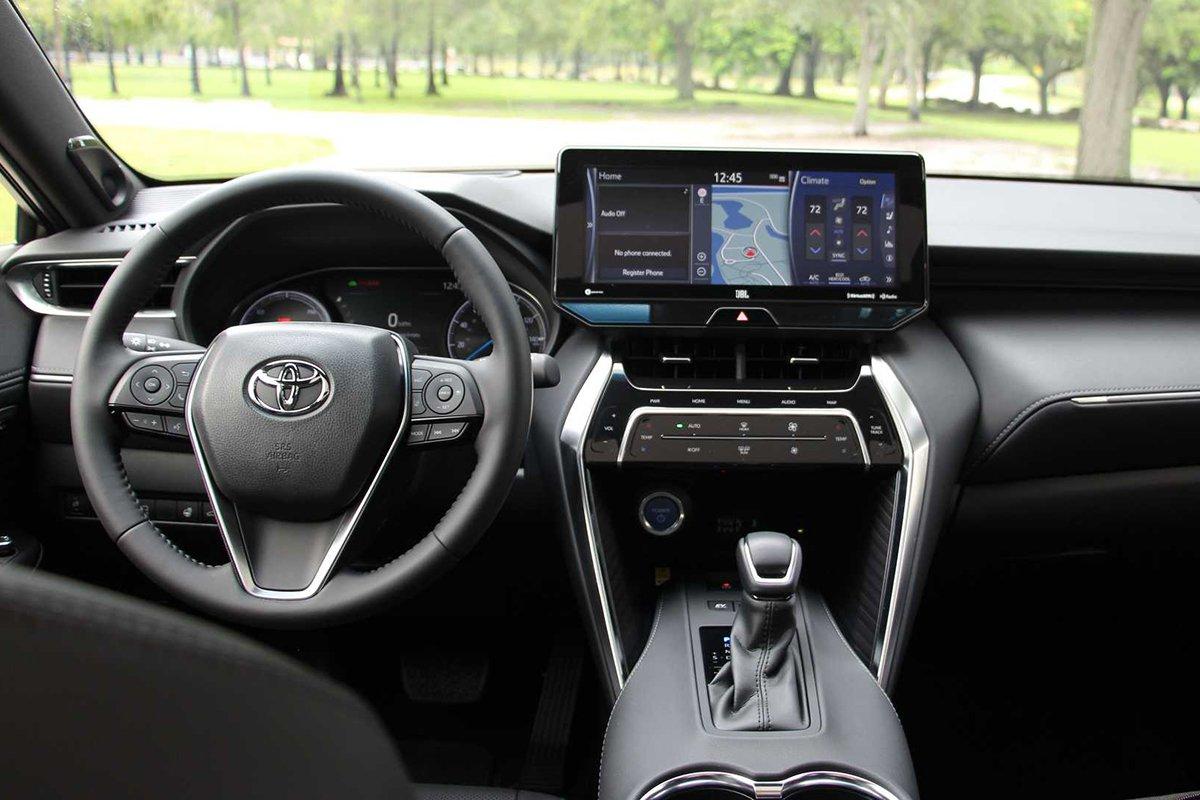 Ảnh Khoang lái xe Toyota Venza 2021
