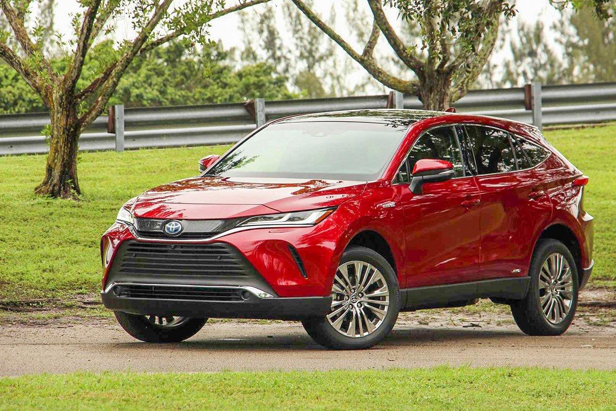 Ảnh Tổng quát xe Toyota Venza 2021