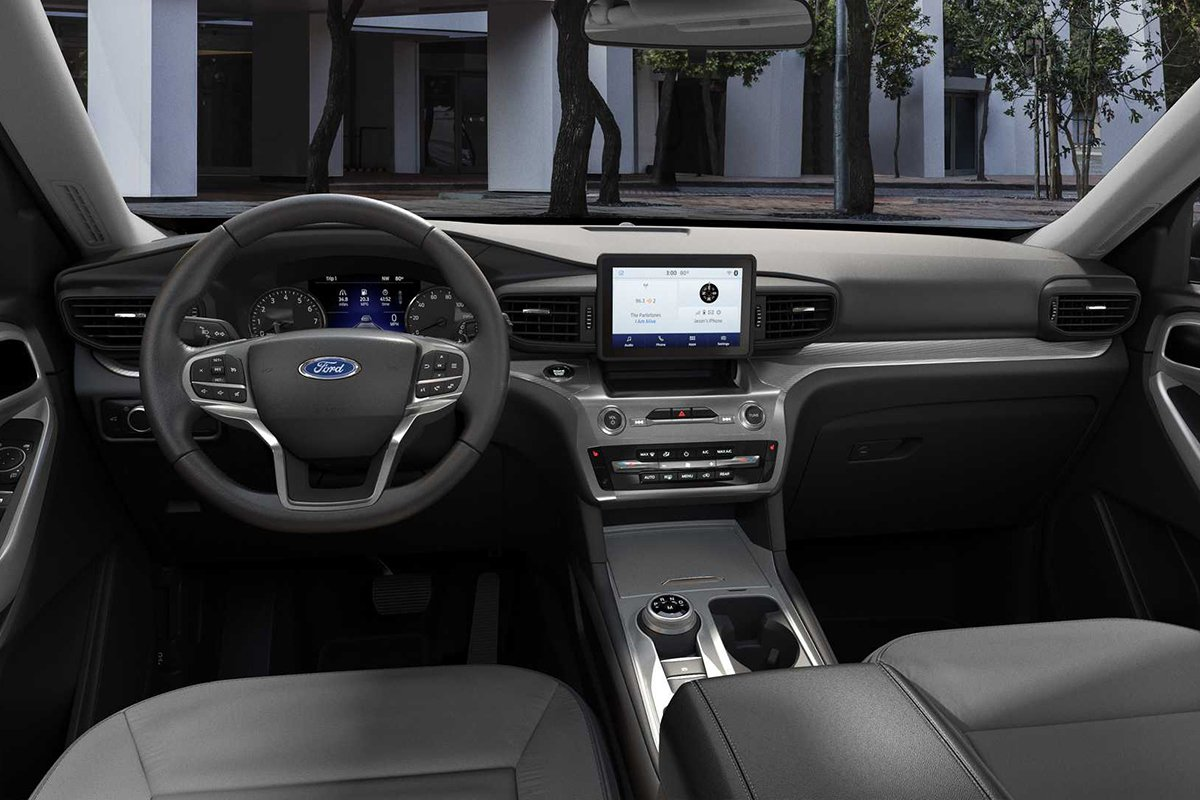 Ảnh Khoang lái xe Ford Explorer 2021