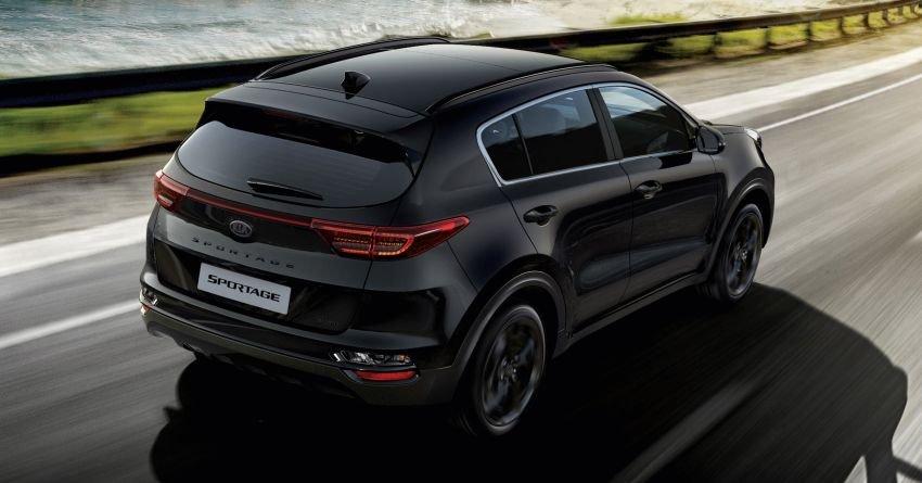 Kia Sportage 2021 JBL Black Edition trang bị đa dạng.