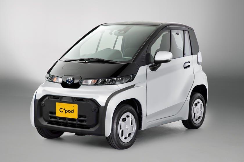 Mẫu xe điện tí hon của Toyota mới thích hợp cho các bà nội trợ.