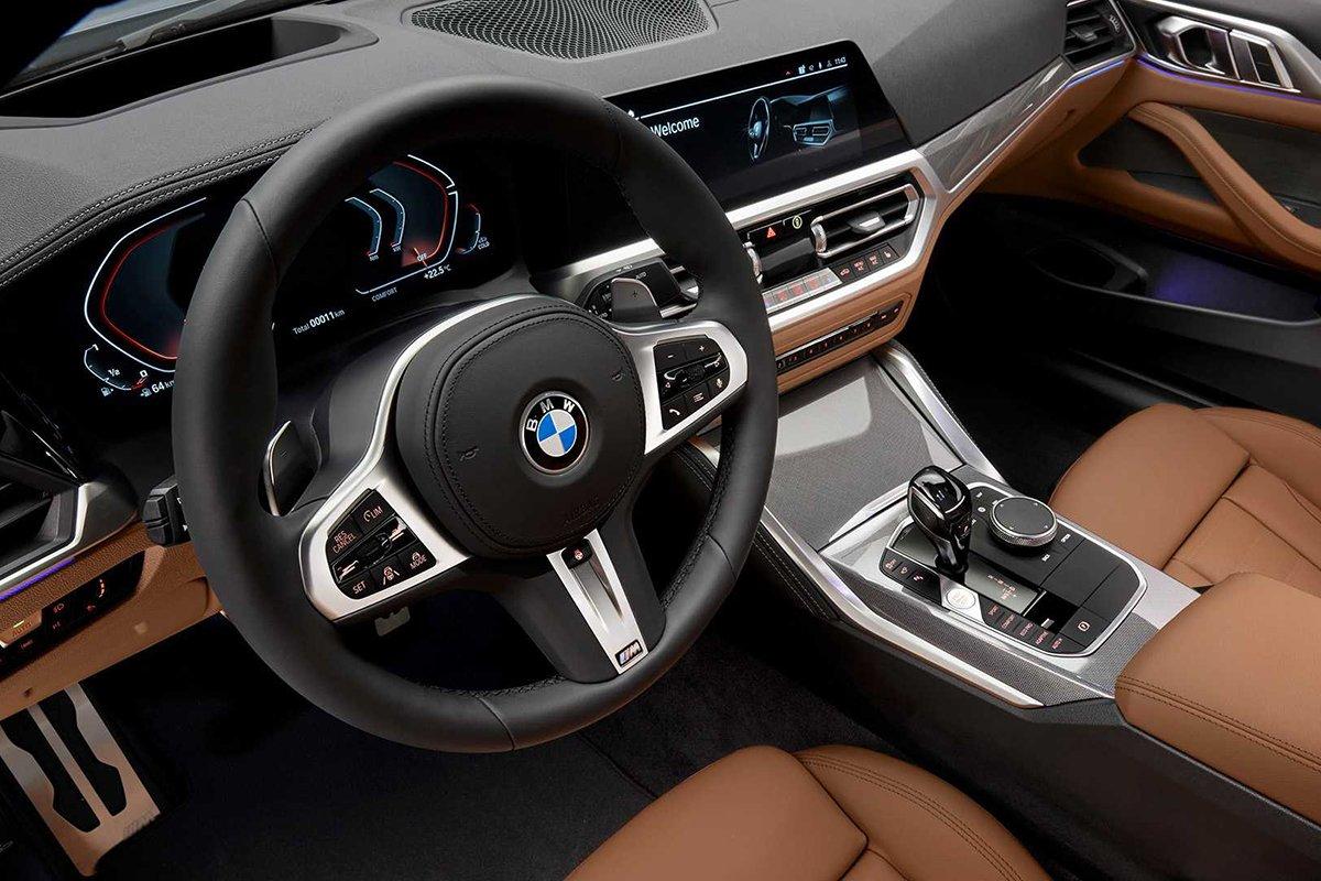 Ảnh Vô-lăng xe BMW 4-Series 2021