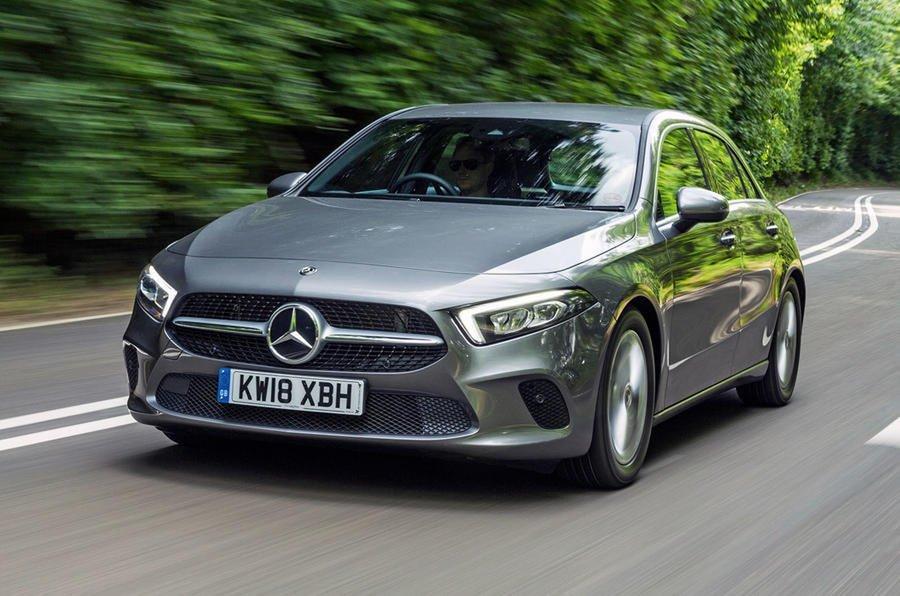 Mercedes-Benz A-Class được tăng kích thước.