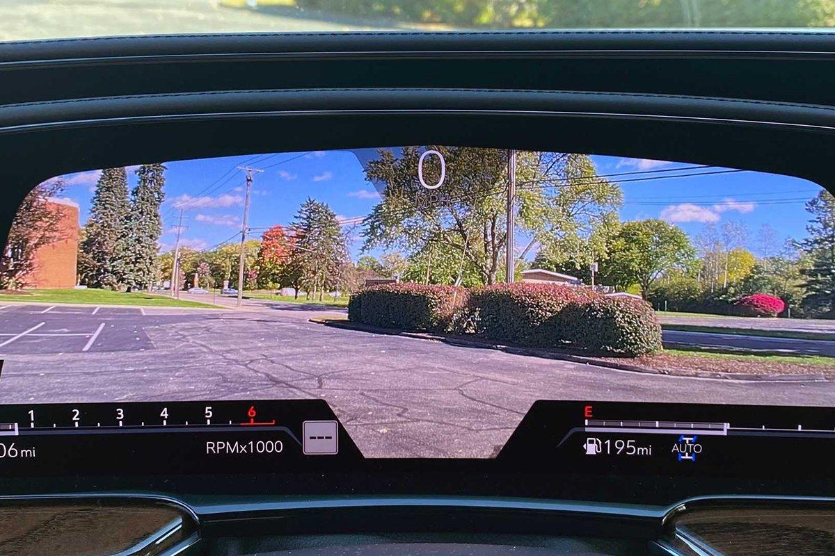 Ảnh Đồng hồ camera xe Cadillac Escalade 2021