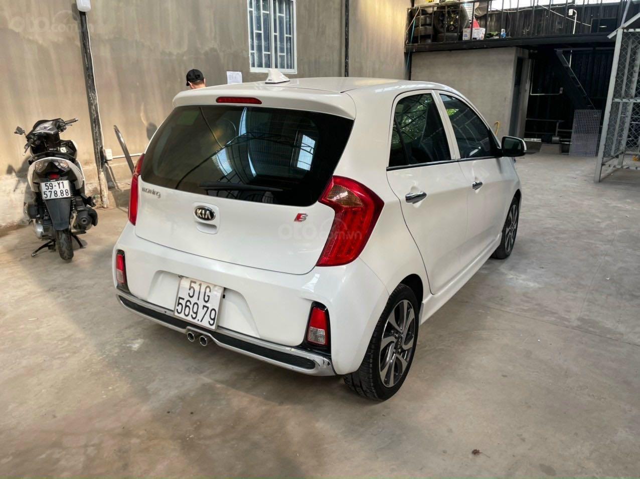 Cần bán lại xe Kia Morning năm 2018, màu trắng nhập khẩu giá tốt 369 triệu đồng (4)