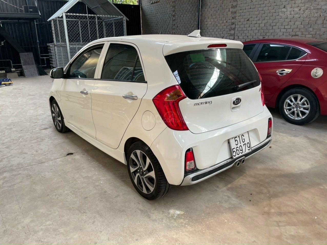 Cần bán lại xe Kia Morning năm 2018, màu trắng nhập khẩu giá tốt 369 triệu đồng (5)