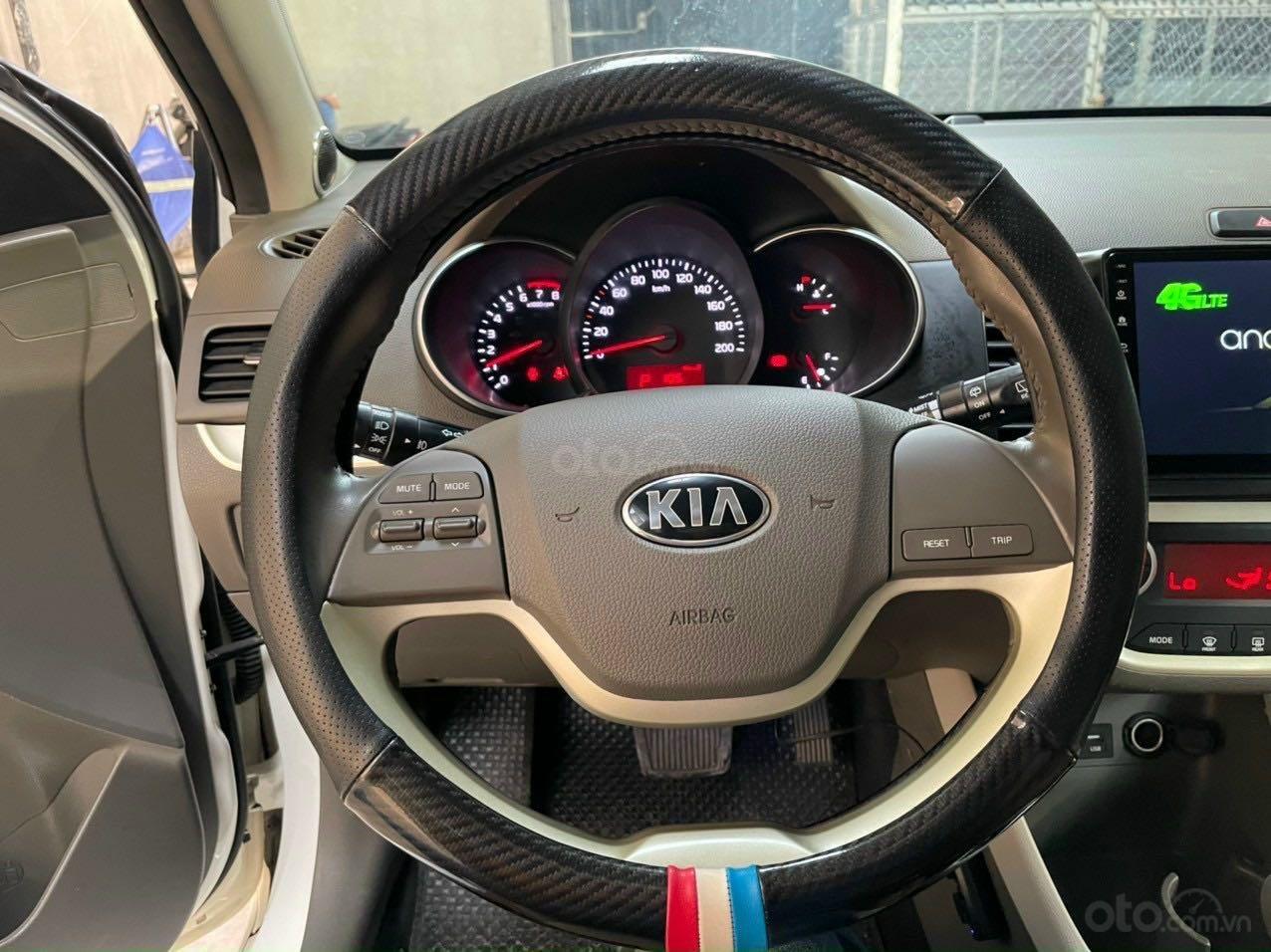 Cần bán lại xe Kia Morning năm 2018, màu trắng nhập khẩu giá tốt 369 triệu đồng (6)