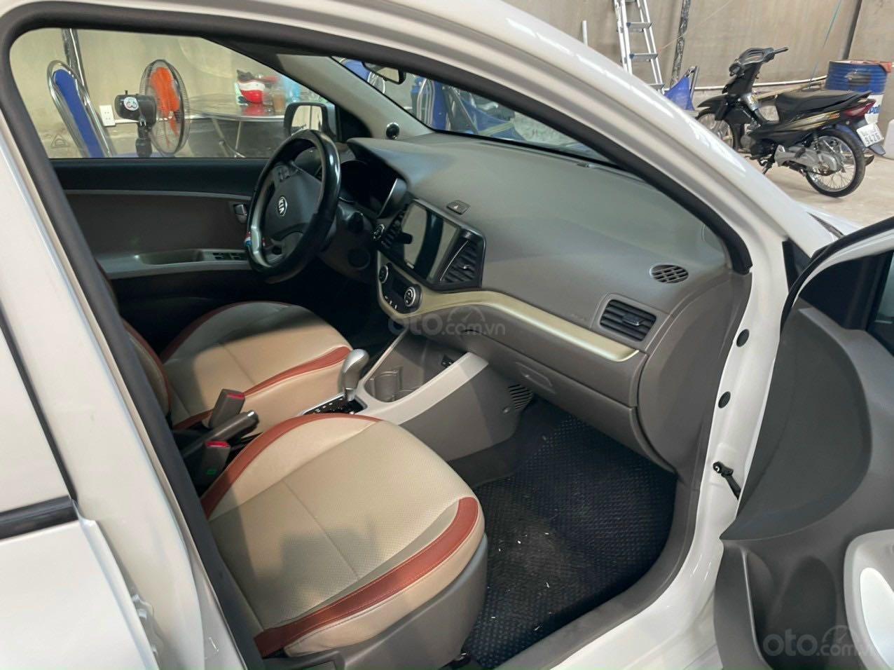 Cần bán lại xe Kia Morning năm 2018, màu trắng nhập khẩu giá tốt 369 triệu đồng (10)