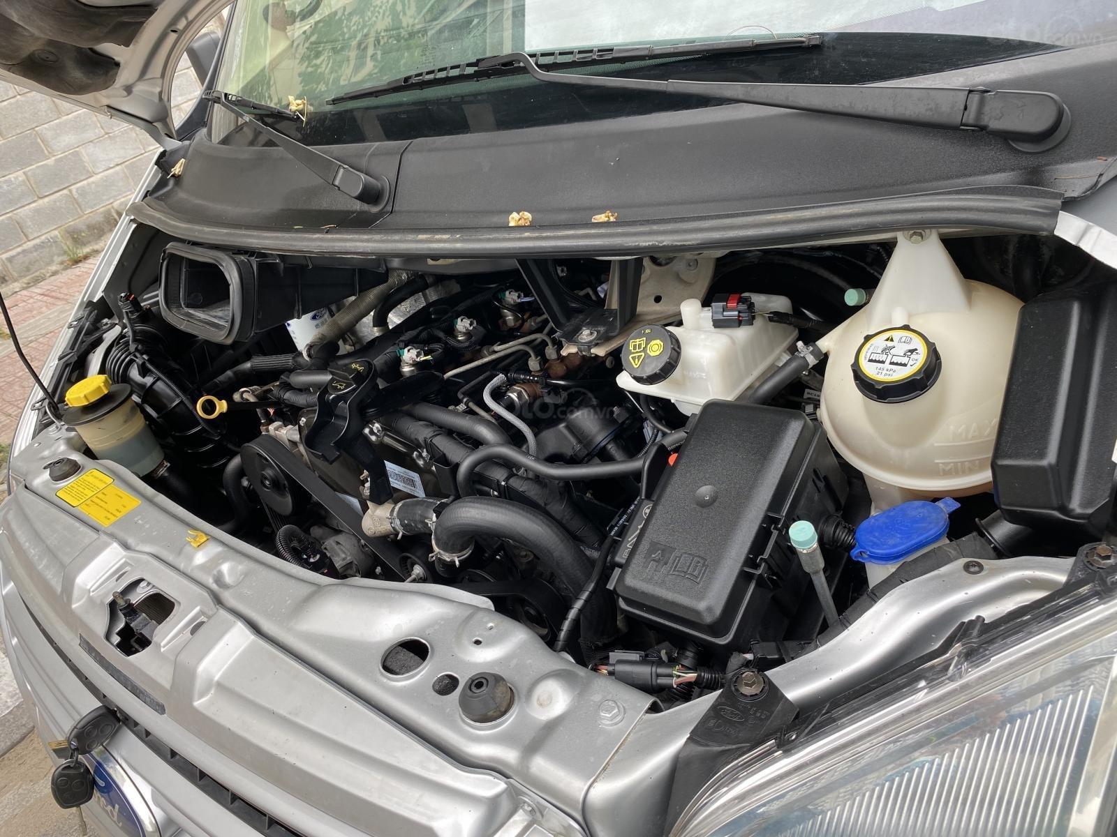 Cần bán Ford Transit van 6 chỗ ngồi 850kg sx 2015, gầm bệ chắc, xe đẹp được sử dụng lưu hành trong giờ cấm (13)