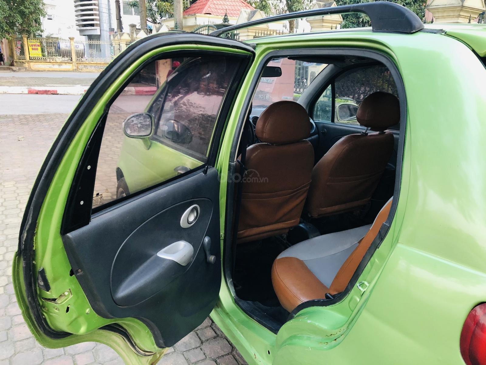 Cần bán Daewoo Matiz năm sản xuất 2004, màu xanh lục (7)