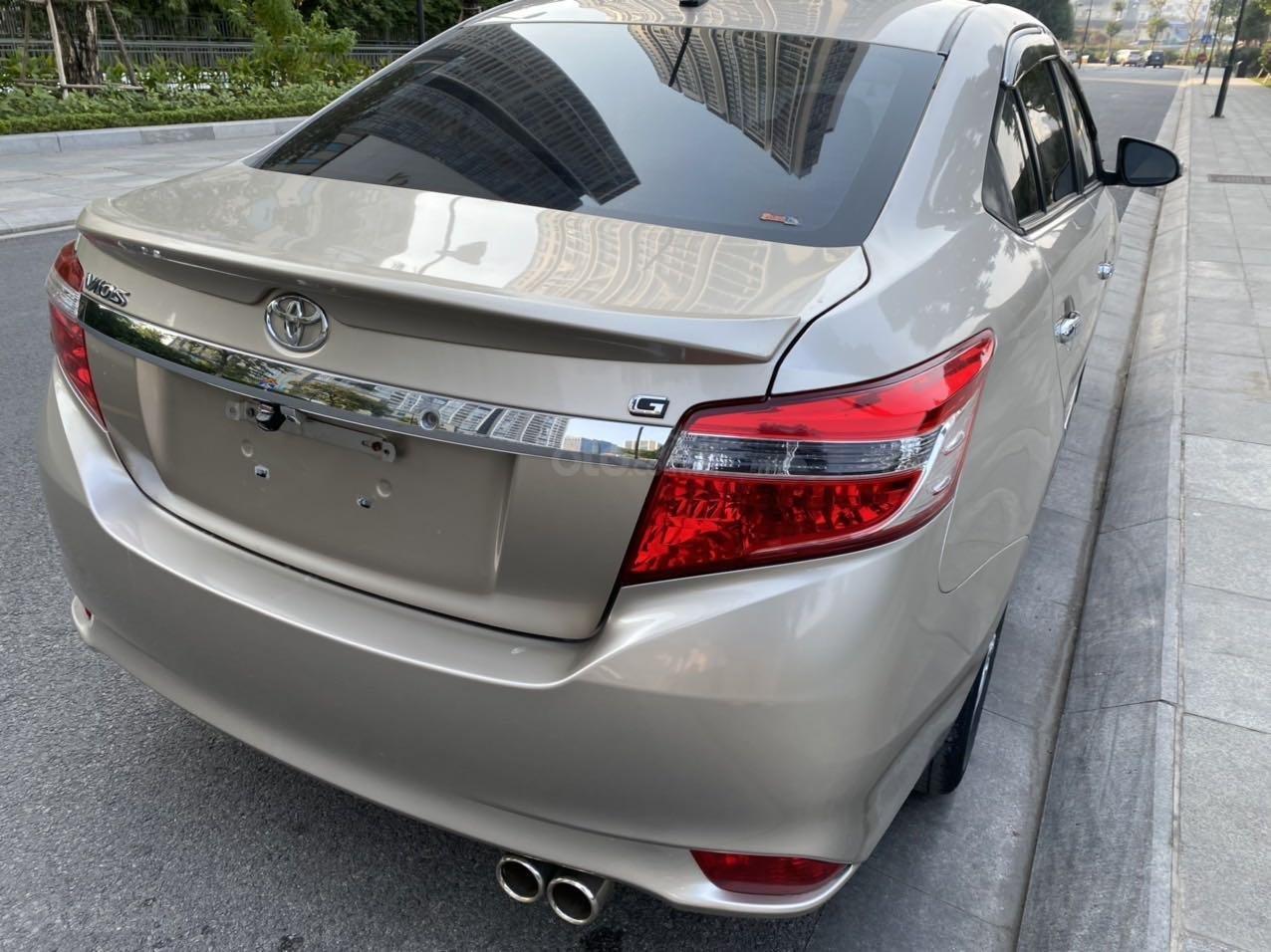 Bán Toyota Vios G 2014 xe gia đình giá chỉ 412 triệu đồng (7)