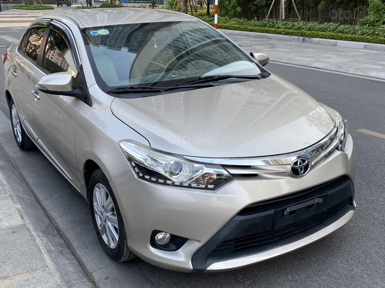 Bán Toyota Vios G 2014 xe gia đình giá chỉ 412 triệu đồng (5)