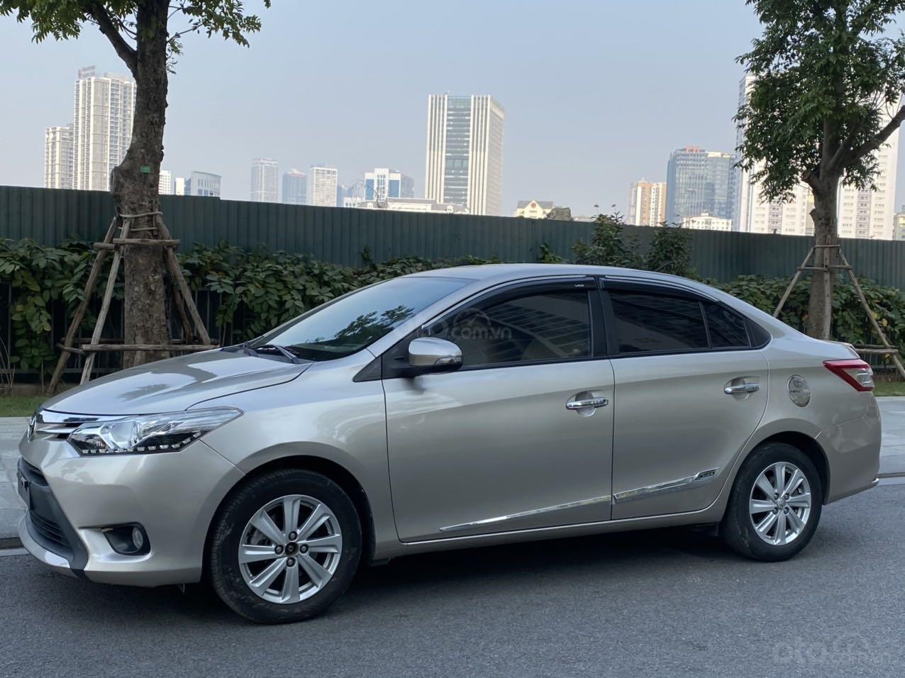 Bán Toyota Vios G 2014 xe gia đình giá chỉ 412 triệu đồng (13)