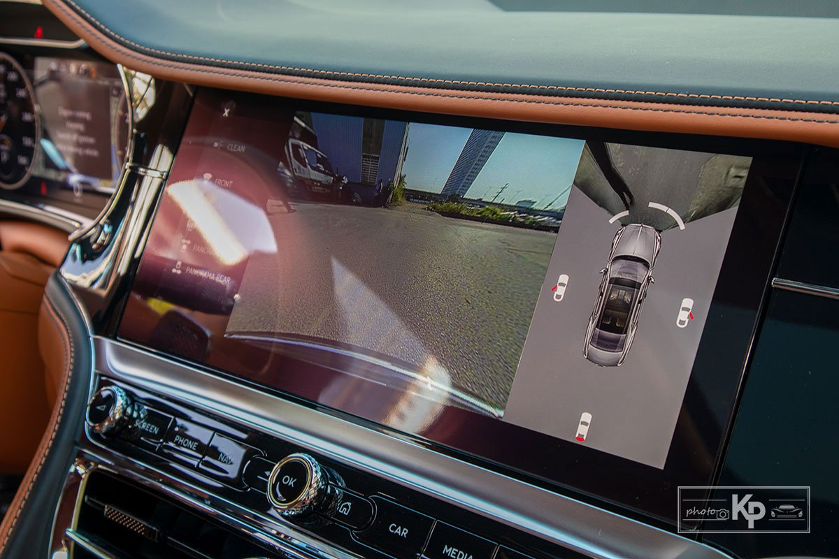 Ảnh Camera  xe Bentley Flying Spur W12