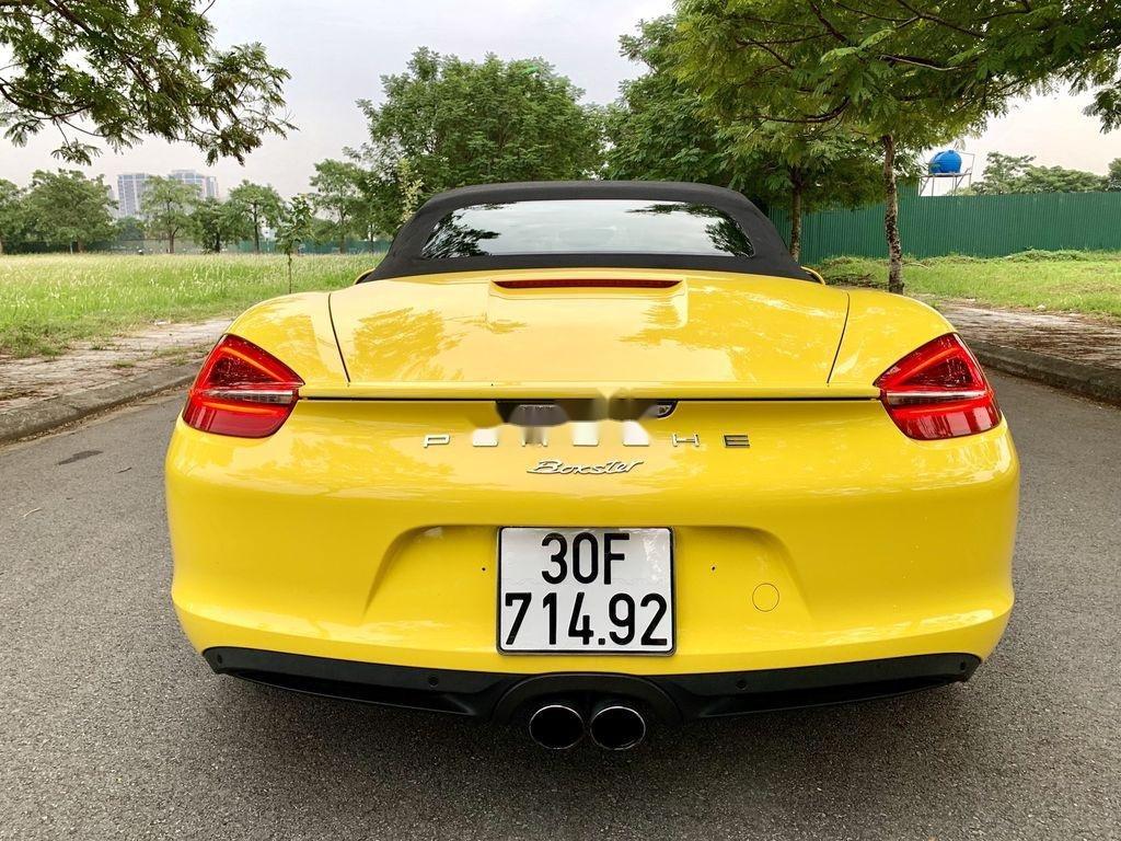Bán Porsche Boxster sản xuất 2015, màu vàng, nhập khẩu chính chủ (6)