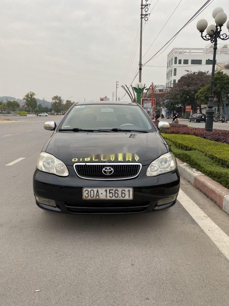 Cần bán lại xe Toyota Corolla Altis đời 2002, màu đen, giá chỉ 198 triệu (8)