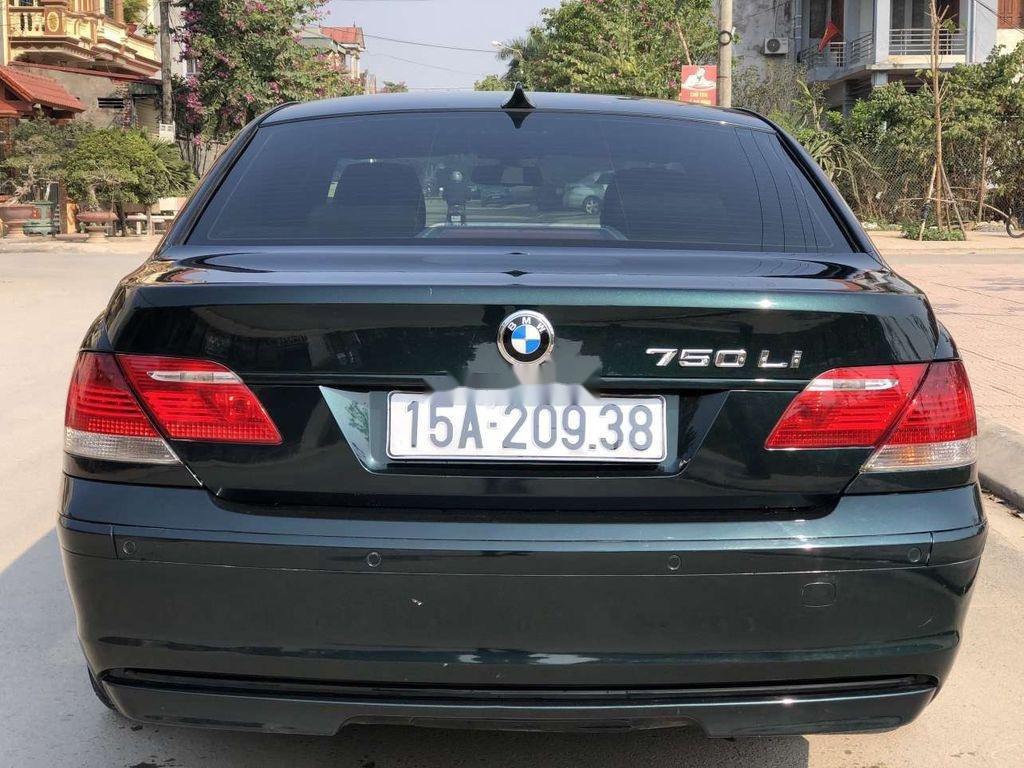Bán ô tô BMW 7 Series 750Li đời 2007, màu đen (2)