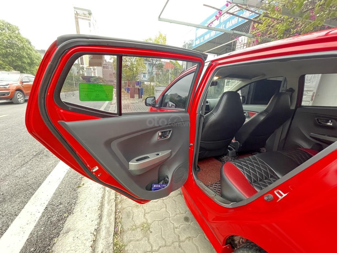 Toyota Wigo sản xuất 2018, nhập khẩu còn mới, màu đỏ thời thượng (6)