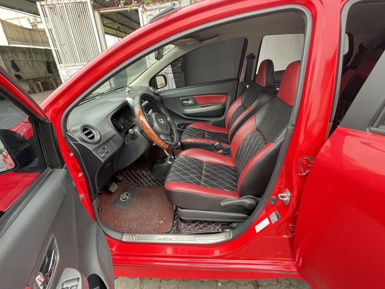 Toyota Wigo sản xuất 2018, nhập khẩu còn mới, màu đỏ thời thượng (7)