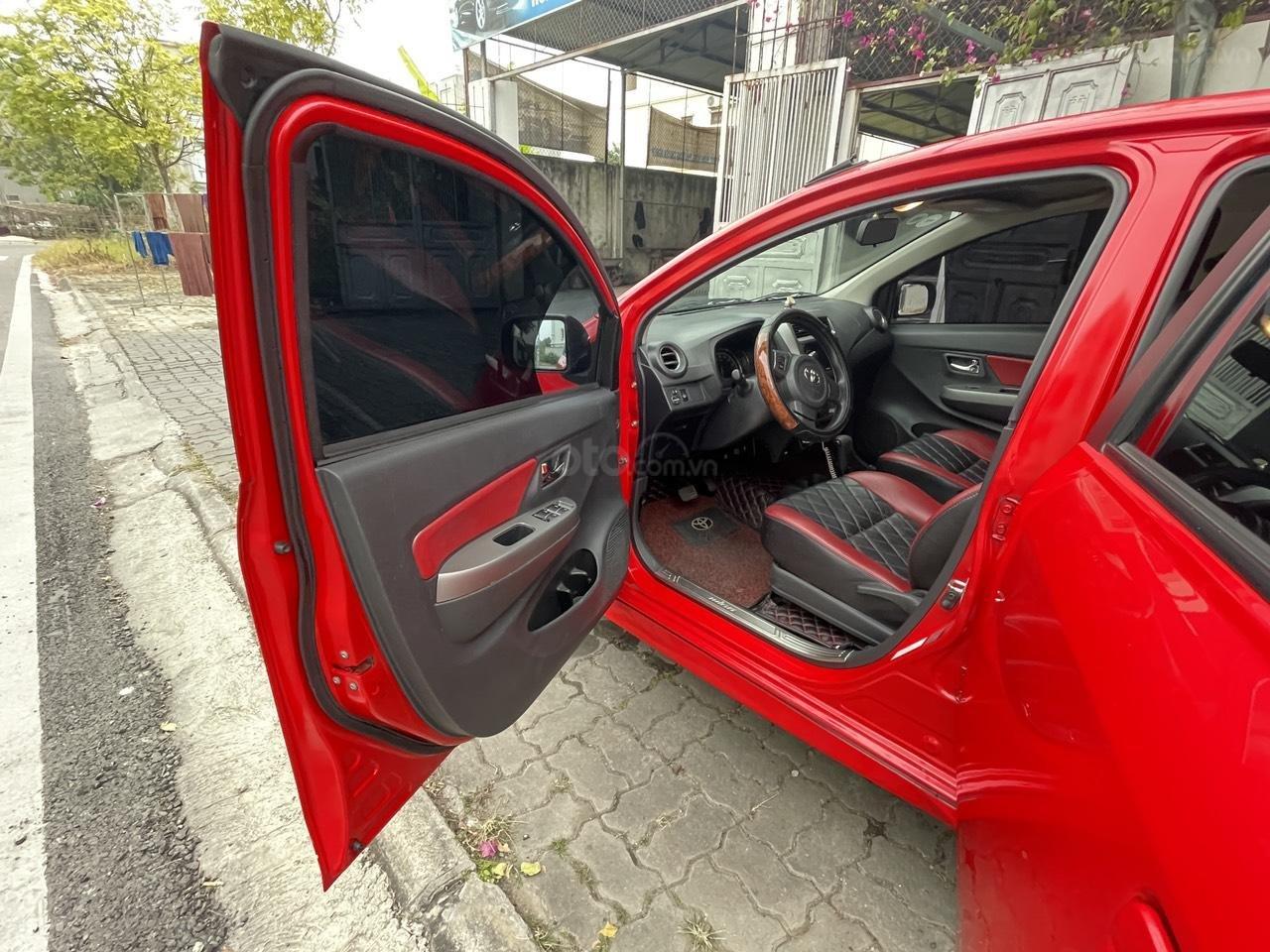 Toyota Wigo sản xuất 2018, nhập khẩu còn mới, màu đỏ thời thượng (5)
