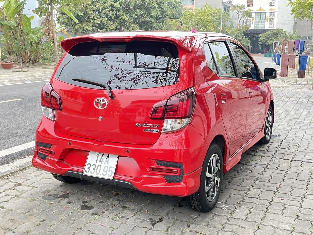 Toyota Wigo sản xuất 2018, nhập khẩu còn mới, màu đỏ thời thượng (3)