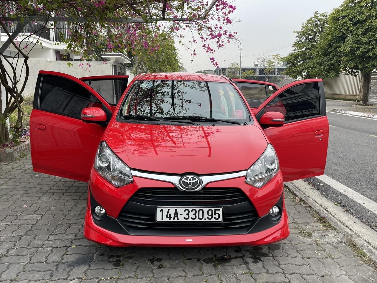 Toyota Wigo sản xuất 2018, nhập khẩu còn mới, màu đỏ thời thượng (2)