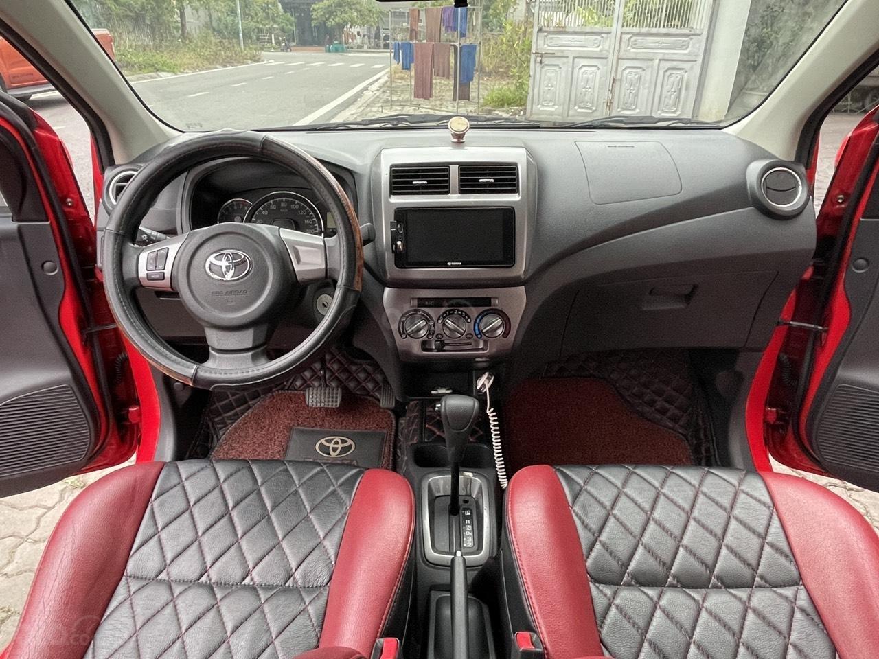 Toyota Wigo sản xuất 2018, nhập khẩu còn mới, màu đỏ thời thượng (12)