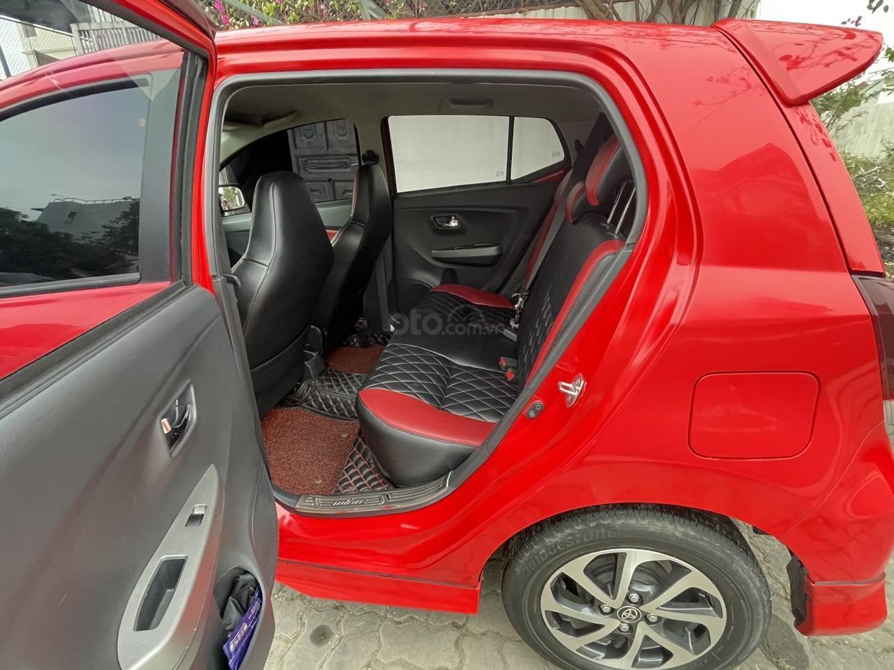 Toyota Wigo sản xuất 2018, nhập khẩu còn mới, màu đỏ thời thượng (15)