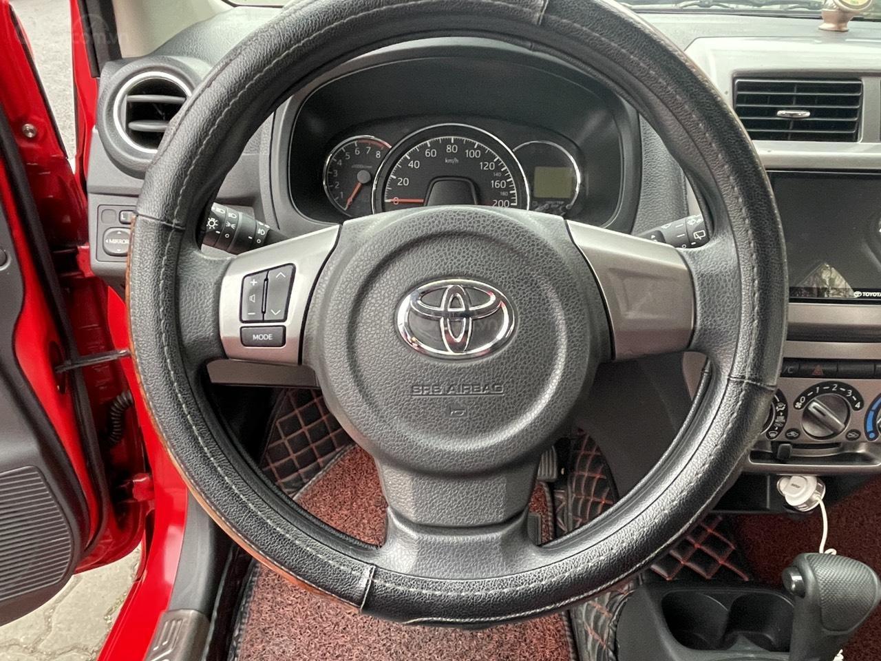 Toyota Wigo sản xuất 2018, nhập khẩu còn mới, màu đỏ thời thượng (13)