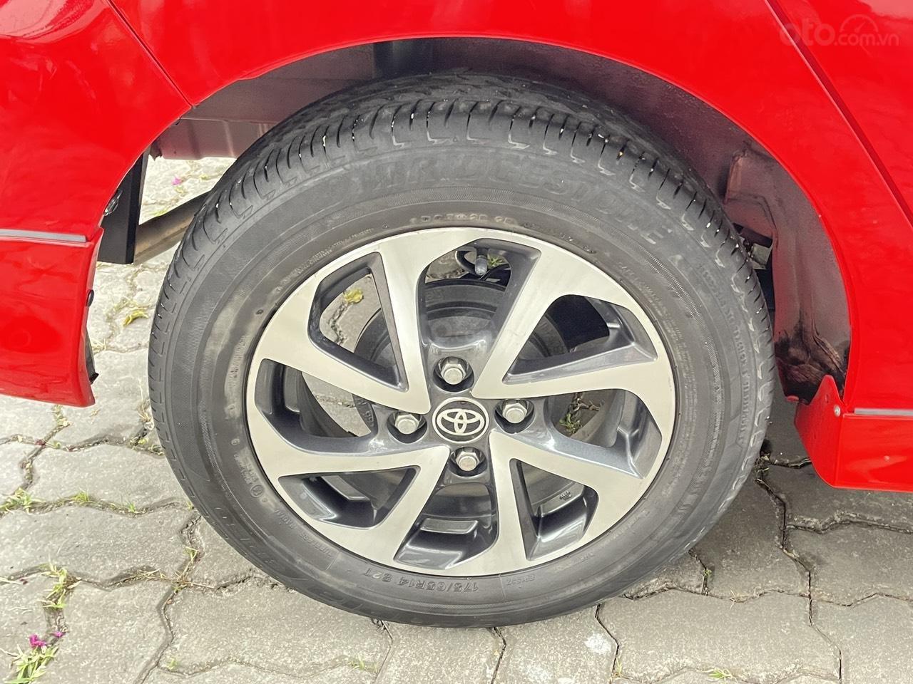 Toyota Wigo sản xuất 2018, nhập khẩu còn mới, màu đỏ thời thượng (14)