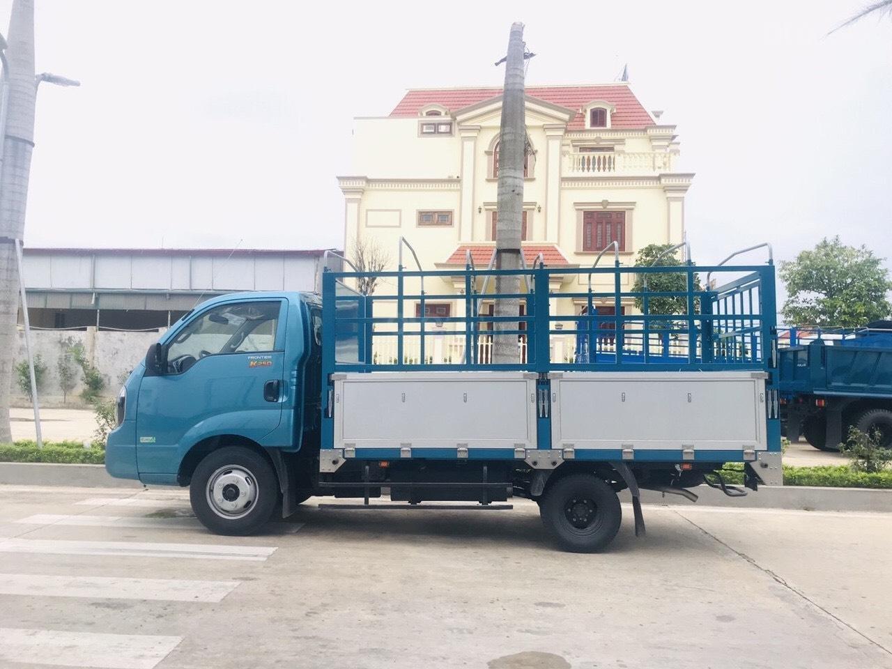 Xe tải Kia 2.49 tấn Thaco Kia K250 thùng mui bạt 5 bửng mới, trả góp 75% (1)