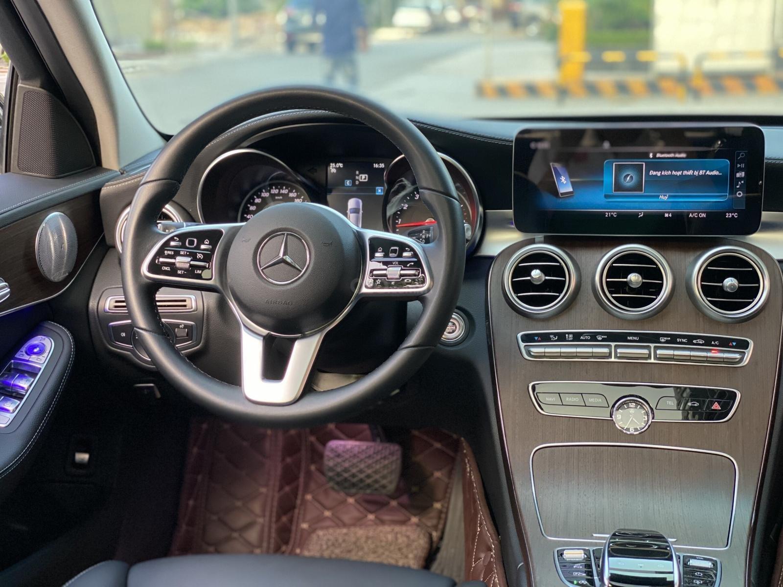 Mercedes C200 Exclusive 2019 1.5L màu đen sang trọng, biển Hà Nội, full option cực kỳ mới (11)