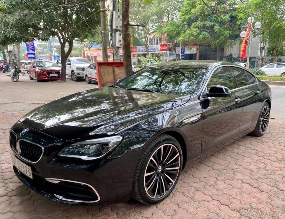 Cần bán BMW 6 Series năm 2015, màu đen nhập khẩu nguyên chiếc giá tốt (2)