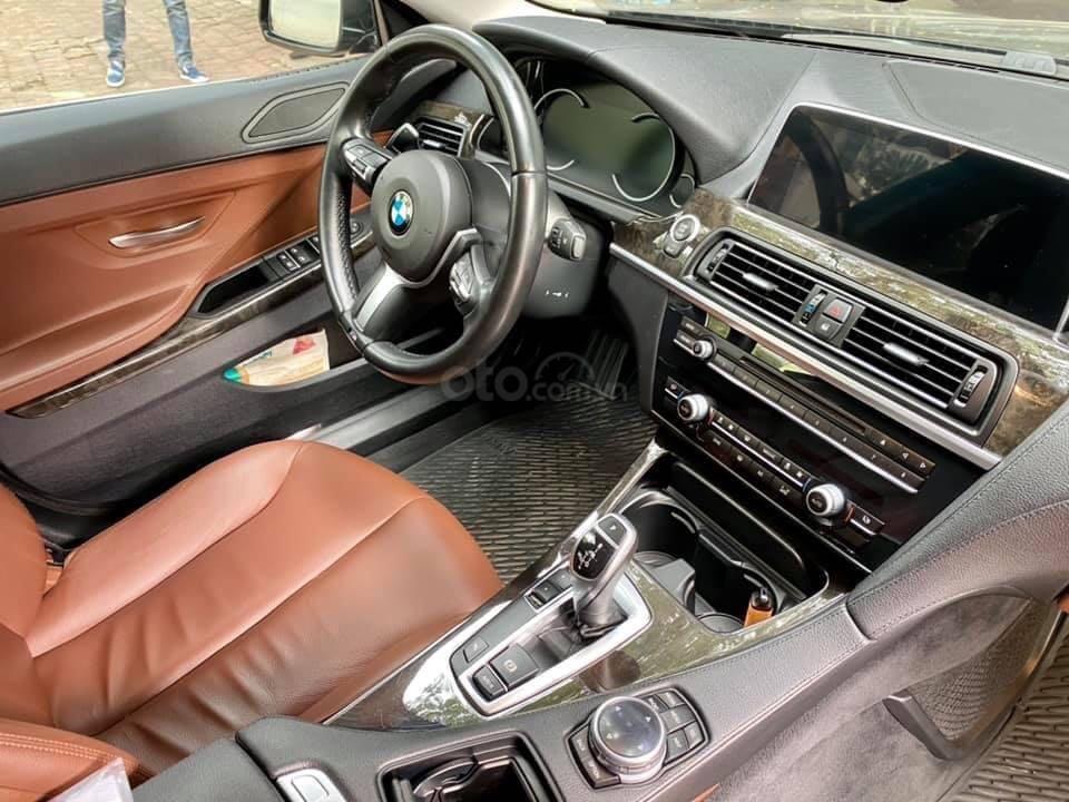 Cần bán BMW 6 Series năm 2015, màu đen nhập khẩu nguyên chiếc giá tốt (7)