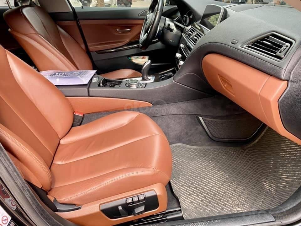 Cần bán BMW 6 Series năm 2015, màu đen nhập khẩu nguyên chiếc giá tốt (6)
