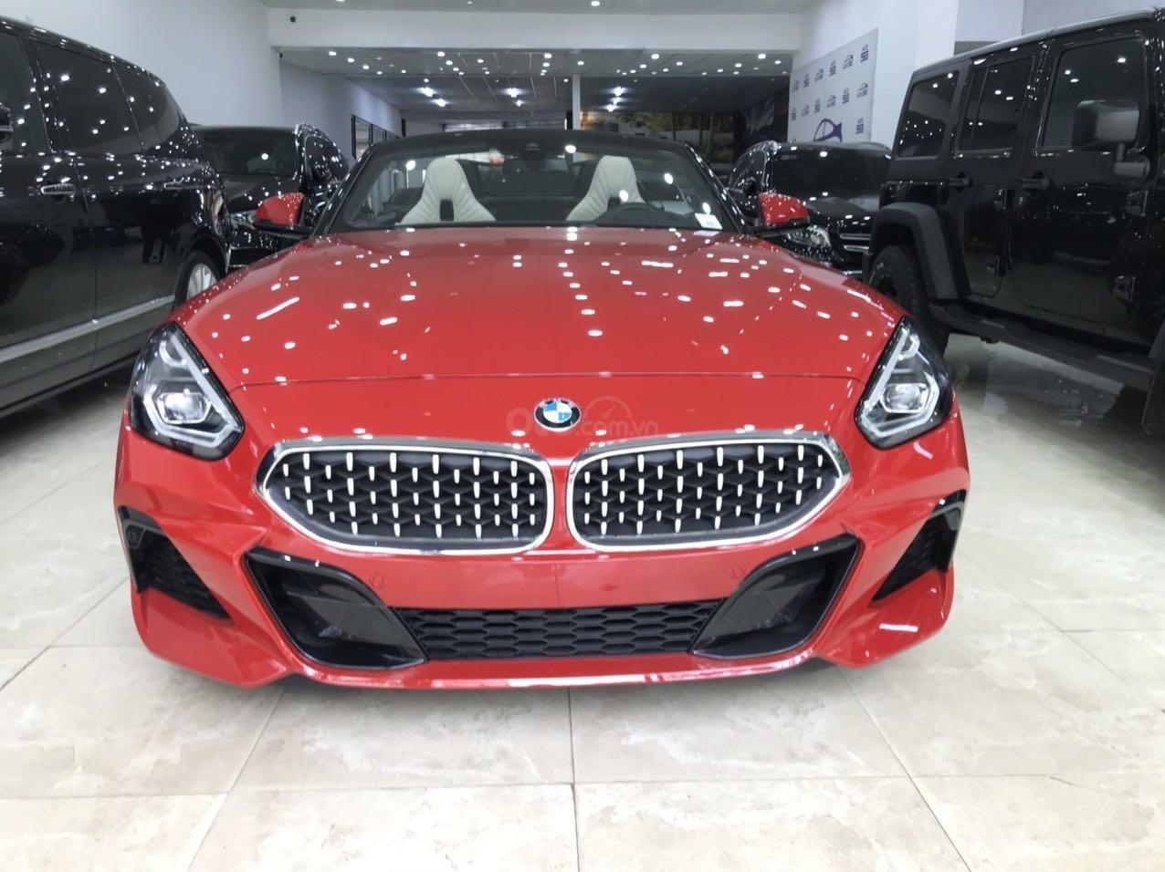 Xe BMW Z4 Sdrive đời 2020, màu đỏ nhập khẩu nguyên chiếc siêu lướt (2)