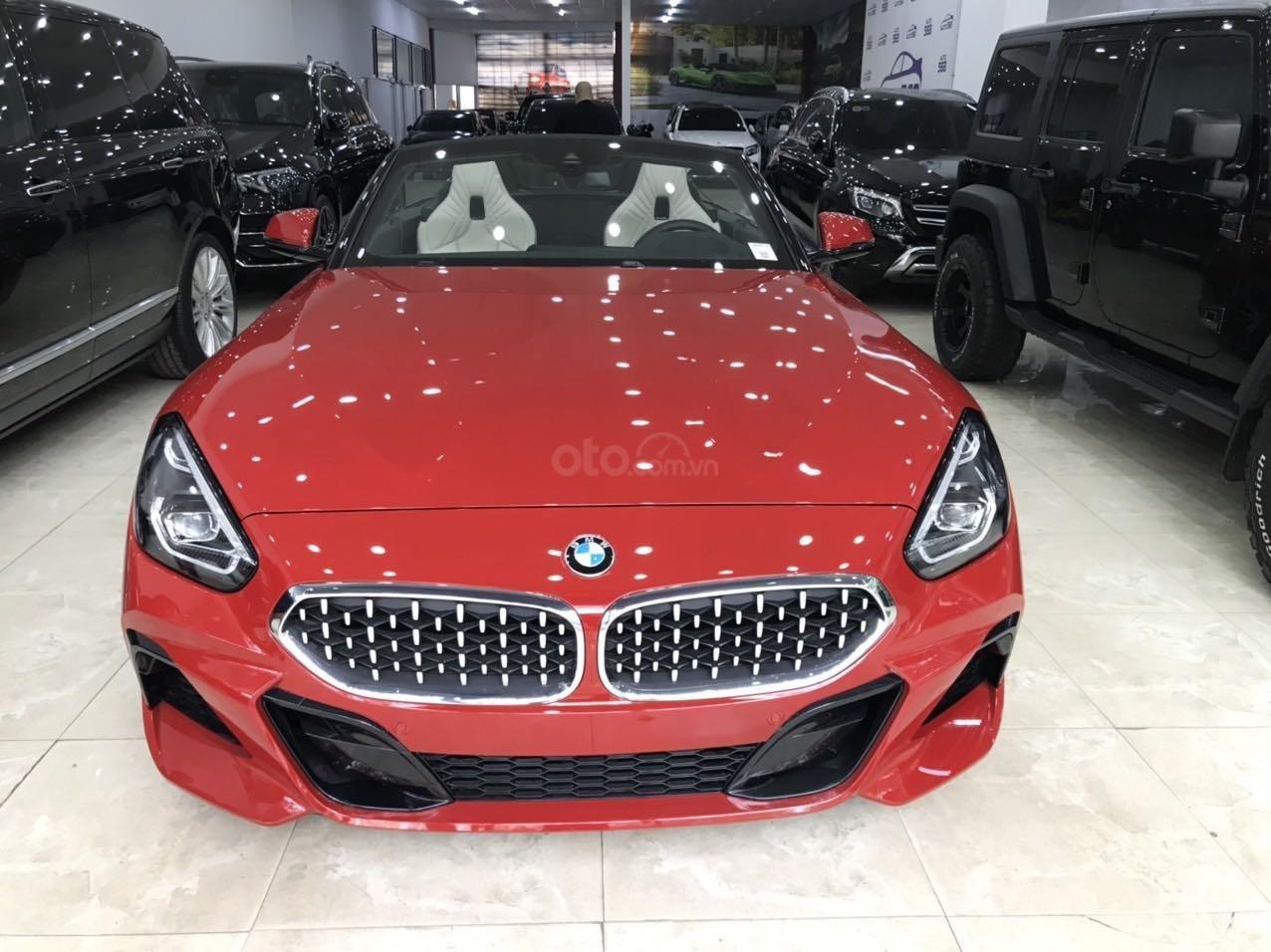 Xe BMW Z4 Sdrive đời 2020, màu đỏ nhập khẩu nguyên chiếc siêu lướt (3)