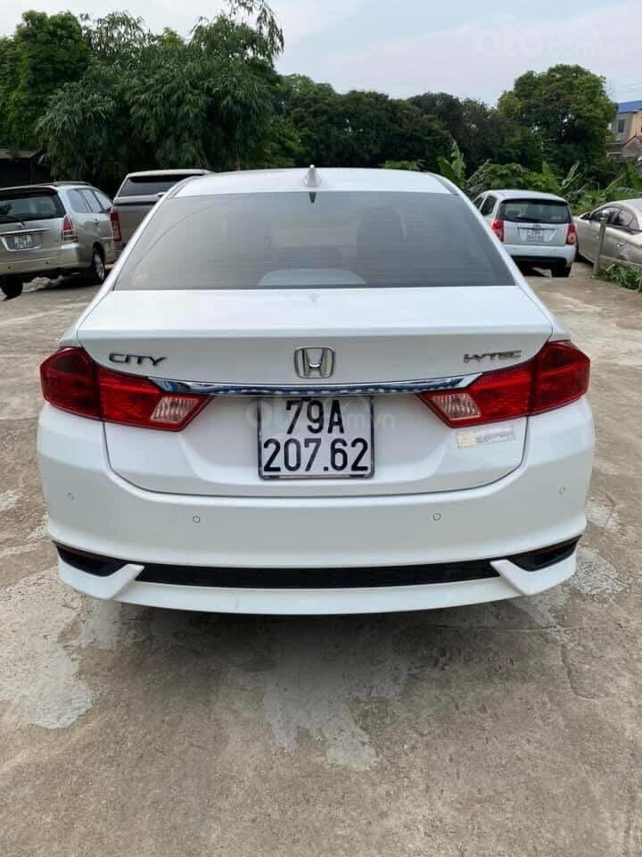 Bán xe Honda City AT đăng ký 2018, màu trắng giá tốt (3)